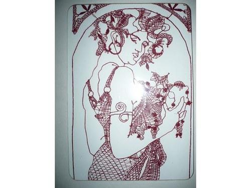 """Alfons Mucha-\""""Ovoce\"""""""
