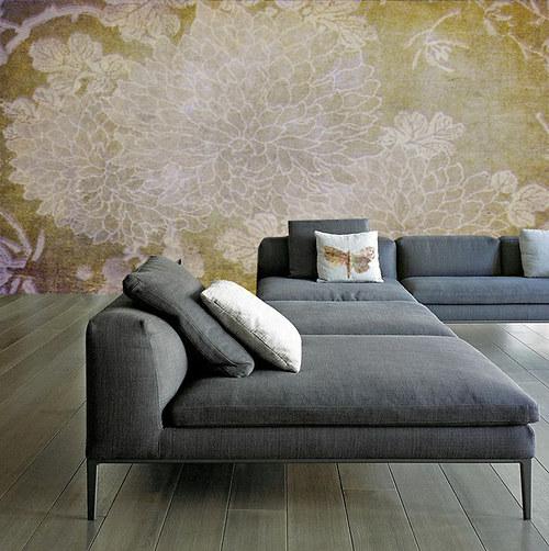 Luxusní vliesová tapeta ,,Chrysanthemum,,