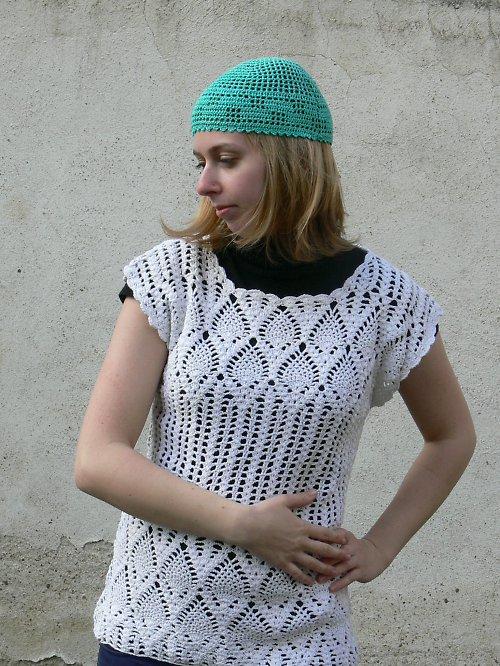 Zelená čepička - SLEVA