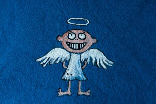 Jako andílek...