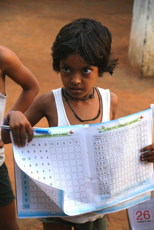 Dítě Indie