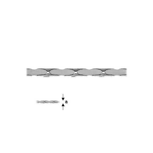 Stříbrný řetízek CARDANO, 50 cm Ag 925/1000