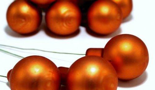 BAŇKA SKLO-10 ks-oranžová