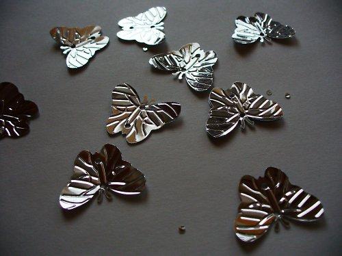 našívací motýlik  / 10ks