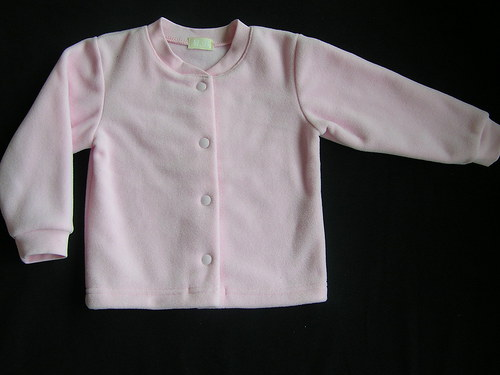 Fleecový kabátek na zapínání 62-80