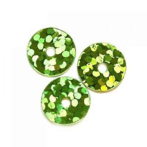 4701400/Flitry zelené malé, 3 g
