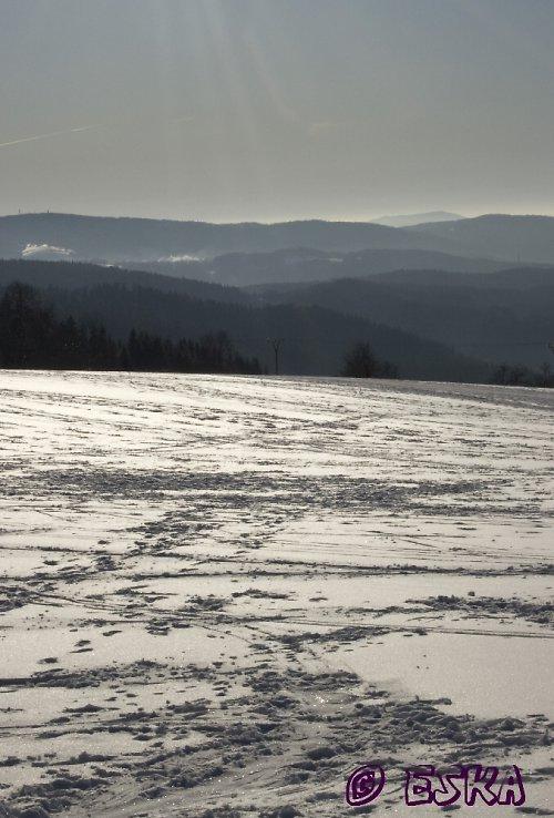 Zasněžené hory...fotka, PF, obrázek