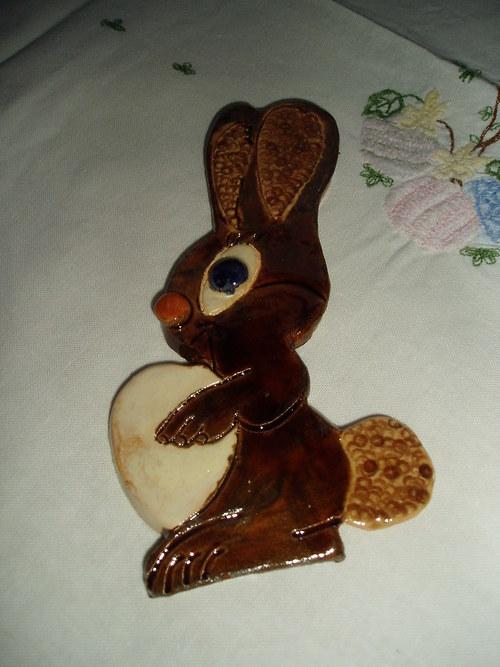 Velikonoční zajíc.