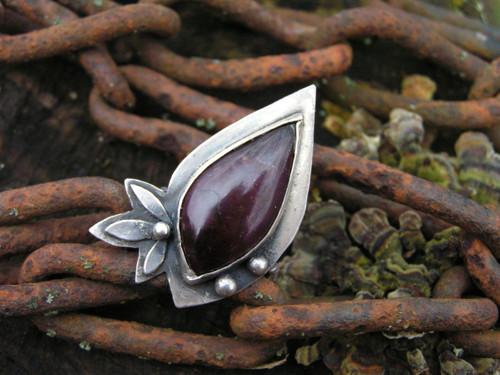 Prsteň Ag 925 Granát