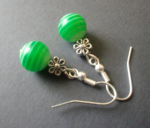 pruhované zelené
