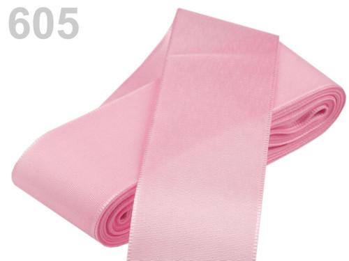 Taftová stuha 52mm (10m) - růžová sv.