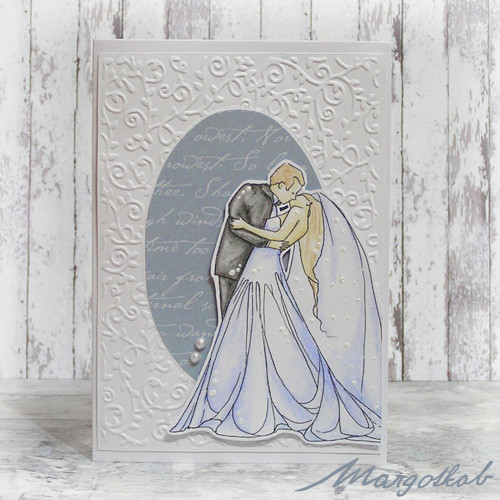Ženich a nevěsta-  svatební přáníčko
