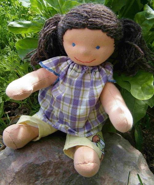 Malá oblékací panenky 35 cm - set na výrobu
