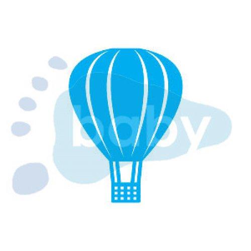 Razítko horkovzdušný balón 8,5 x 11,5 cm