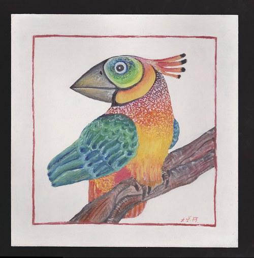 Ptáček modrokřídlý