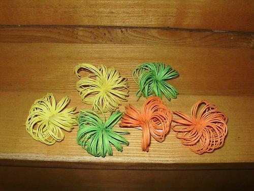Květinky z pedika
