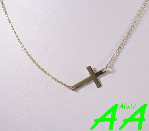 Ankr s křížkem ve žlutém zlatě