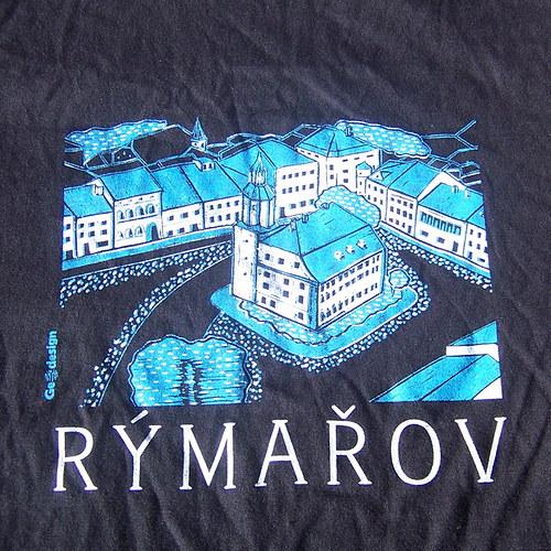 Tričko pro děti s motivem města Rýmařov
