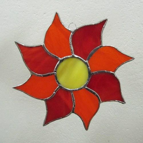 Závěs květina 1
