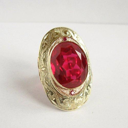 Arabela (luxusní zlatý prsten; 585/1000)