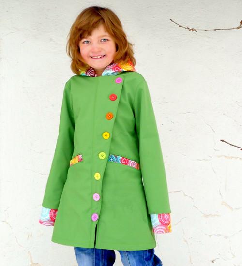 Soft kabát pro větší slečny