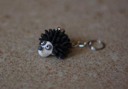 klíčenka ježeček