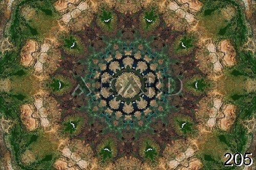 Mandala Planety Země, Afrika