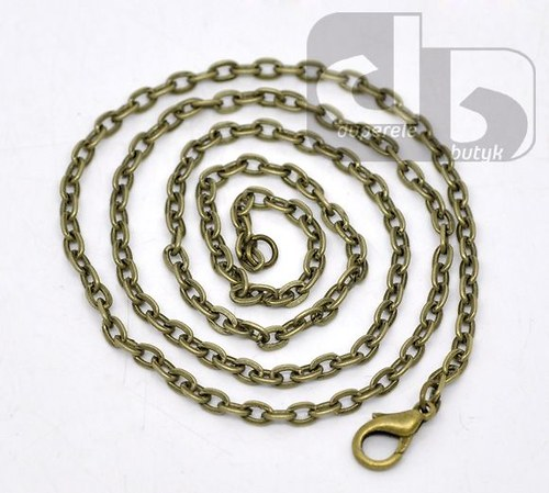 Bronzový řetízek 40 cm