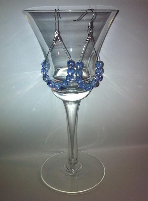 Náušnice - Modré z nebe jen pro TEBE :)
