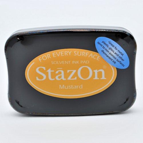 StazOn inkoustový polštářek / okrový