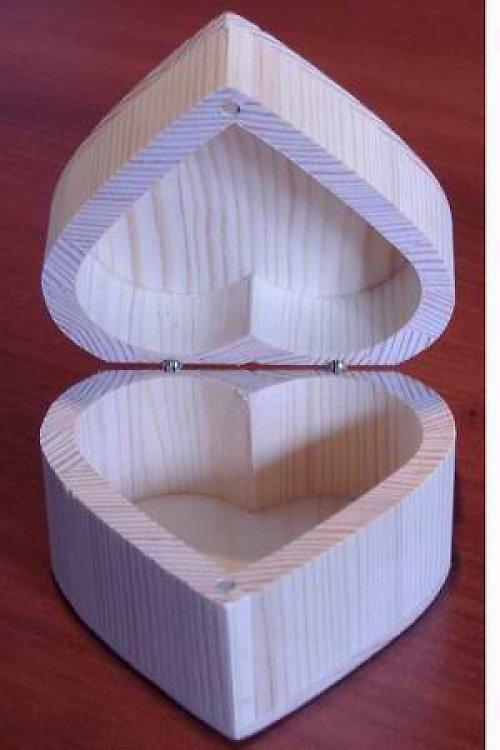 Krabička - srdce