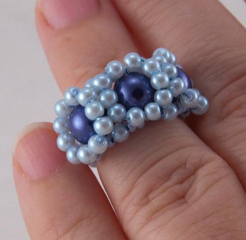 """Prsten - \""""tři modré oči\"""""""