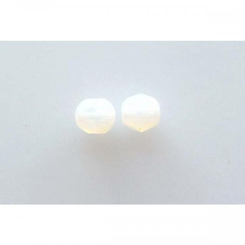 ohňovky 6 mm opál bílý 20ks