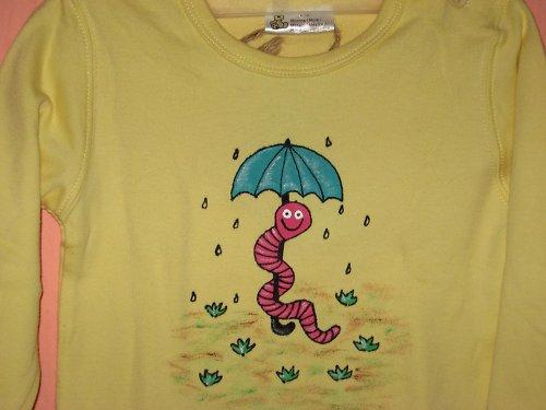 ŽÍŽALKA V DEŠTI (80) - dětské tričko