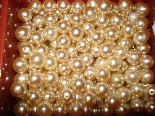 Voskové perle bílé 8mm