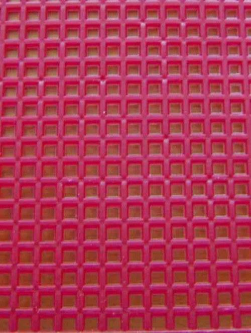 Plastová kanava I - tmavě červená