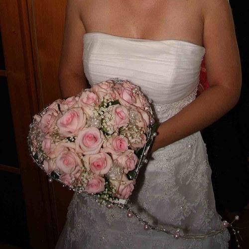 Svatební kytice(srdce)