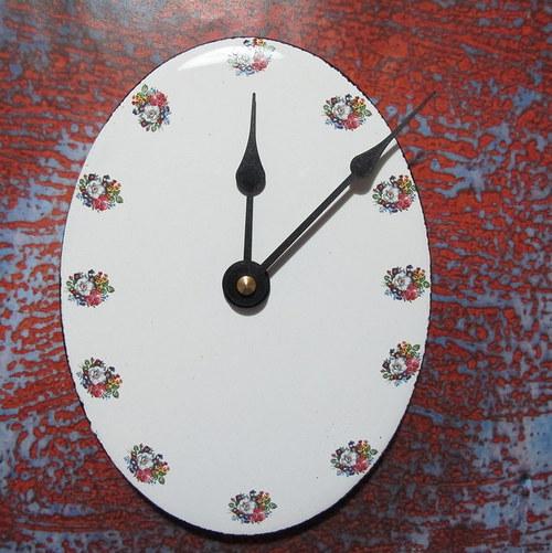 Smaltované hodiny 54