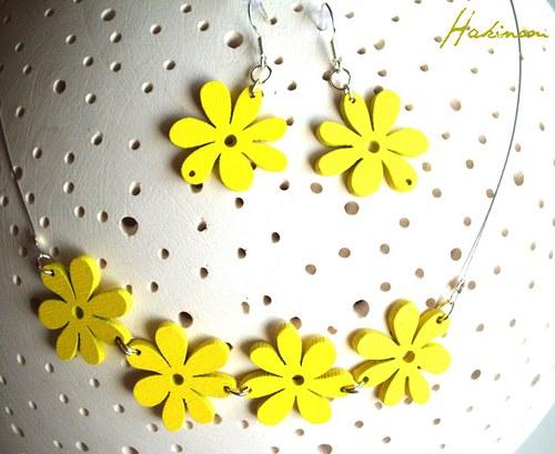 Letní kvítí-žluté
