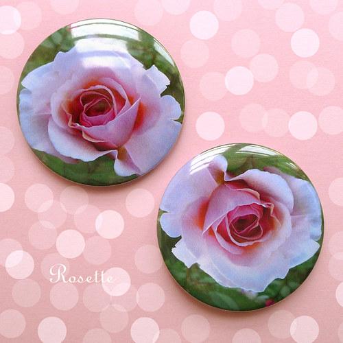 Růžový sen... - magnet / placka