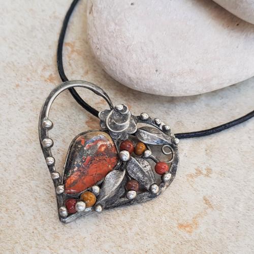 THOMAS heart náhrdelník