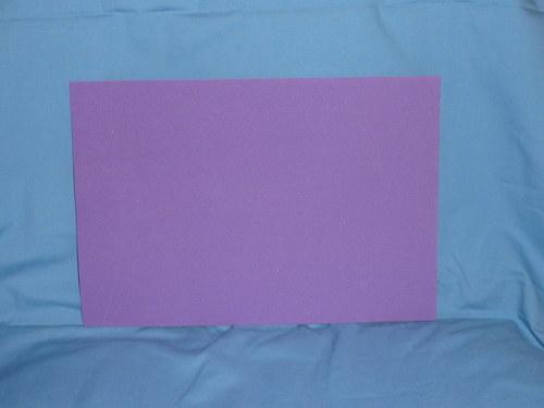 Moosgumi fialová - 20x29cm