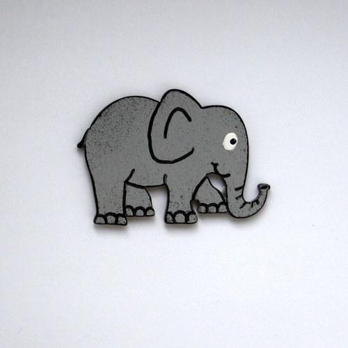 Magnetka malá - slon