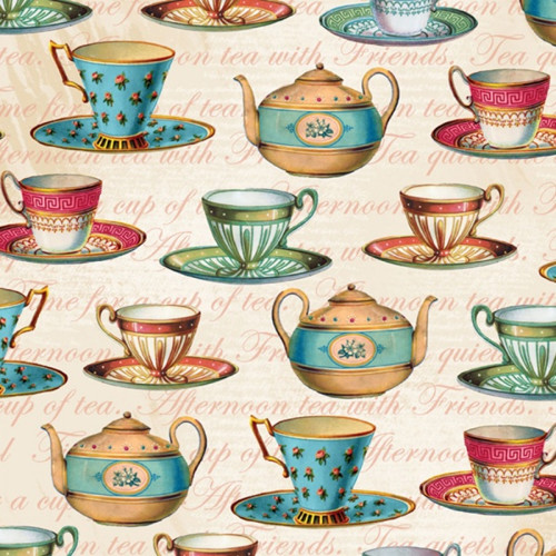 Teapot Flora Šálky