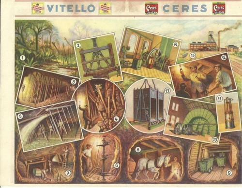 Reklamní okénko pro děti Kamenouhelný důl
