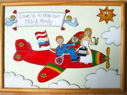 Svatební - letadlo :-)