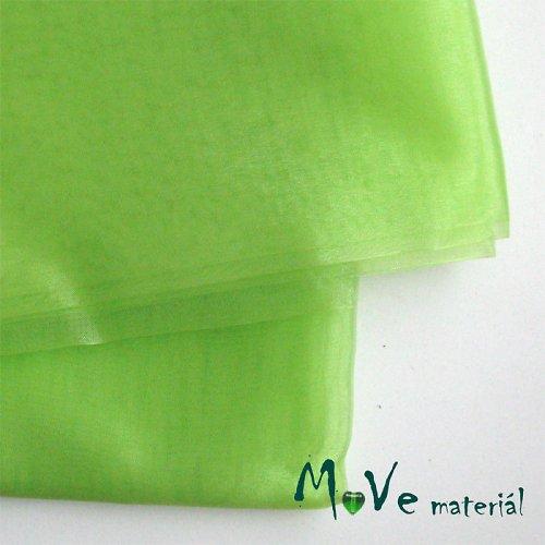 Organza světle zelená 140cm/ 20 cm - 20