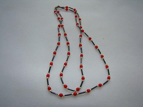 Korálky - náhrdelník č4