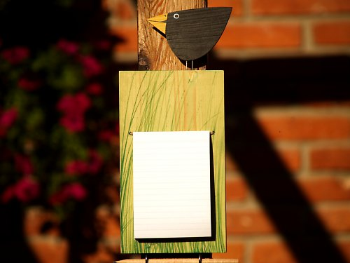 Kuchyňský zápisník - ptáček