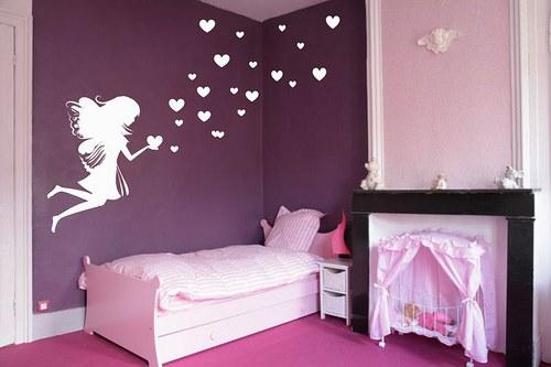 Víla 65x50cm Samolepíci dekorace na zeď 3002n